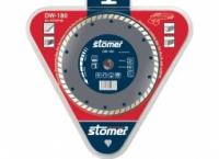 Диск алмазный Stomer для сухой и влажной резки. Модель: DW-180. Размер: 180 мм